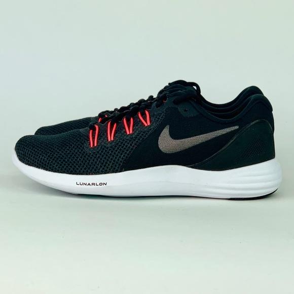 Nike Shoes - Nike Lunar Apparent Running Shoe Black/Grey